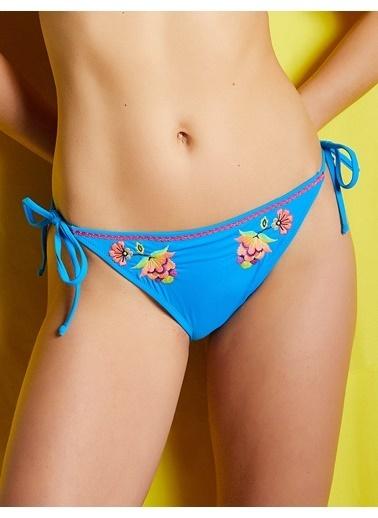 Koton Bikini Alt Mavi